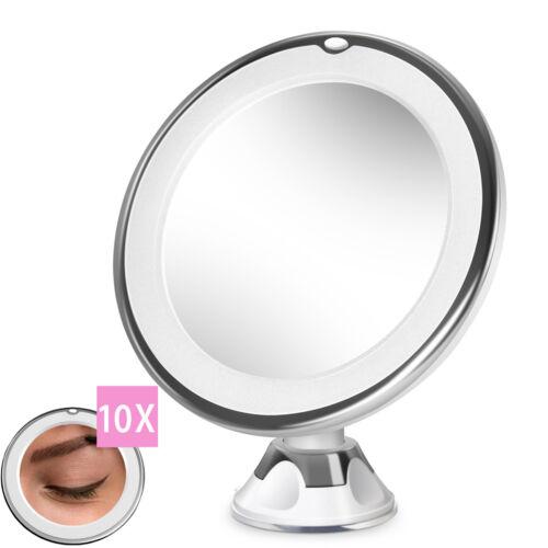 1byone 10X LED Magnifying Light Vanity Mirror Illuminated Co