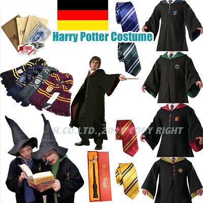 Harry Potter Kostüm Cape Halloween Karneval Umhang Krawatte - Halloween Harry Potter Kostüme