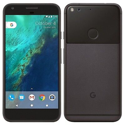 New Google Pixel 32GB Quite Black GSM Unlocked AT&T T-Mobile Straight Talk