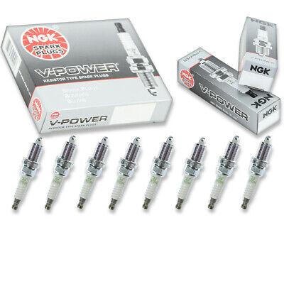 8 pcs NGK V-Power Spark Plugs for 1997-2003 Dodge Ram 1500 5.9L 5.2L V8 - yp