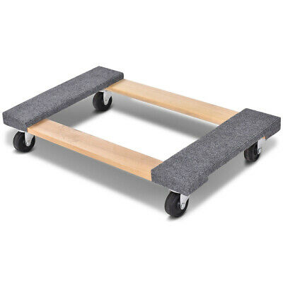 Furniture Dolly Moving Carrier Mover Handle Casters 1000lbs Capacity 3018
