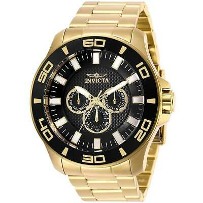 Invicta 27982 Men's Pro Diver Black & Gold Tone Dial Chrono Watch