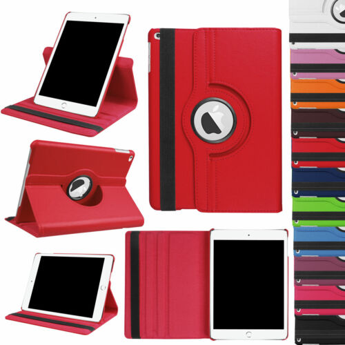 For iPad 7th Generation 10.2 inch 360 Rotating PU Leather Sm