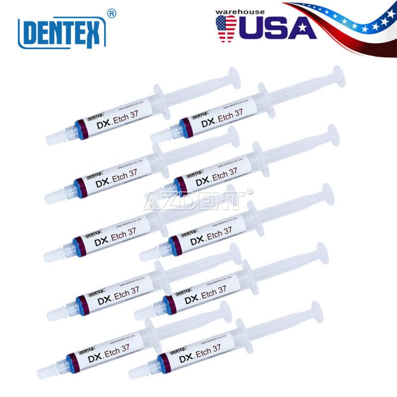 Dentex Dental Etchant Gel 37% Phosphoric Acid Etching Silica Gel 5ml TOP SALE