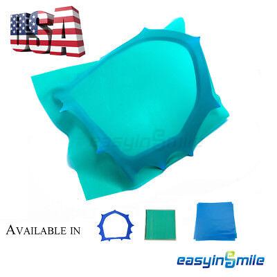 1box Easyinsmile Dental Rubber Dam Sheet Powder Free Protein Latex Dam Or Frame