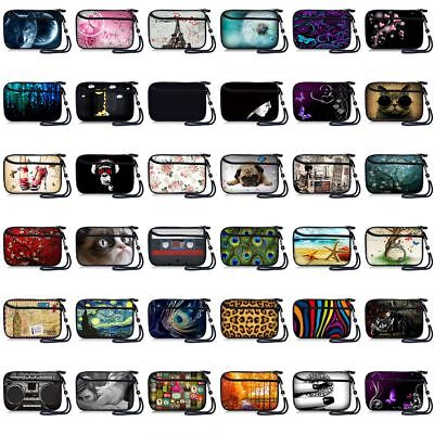 Zipper Pouch Mobile Phone Bag Case Cover w/Strap For 5.5