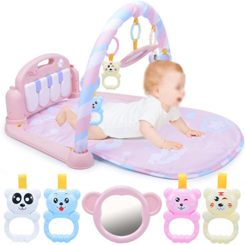 US Baby Play Mat Rug Toys Crawling and Kids Developing Music Game Piano