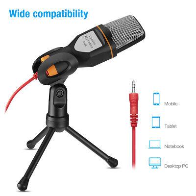 Professional Audio Microphone Mini Stand Tripod Studio Recording For PC Desktop - Mini Audio Stand
