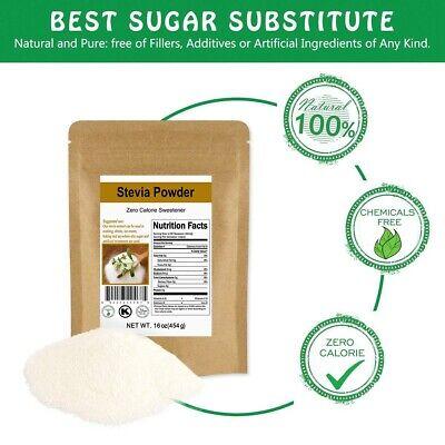 1lb CCnature Stevia Powder Natural Extract Sweetener 0 Calorie Sugar Substitute