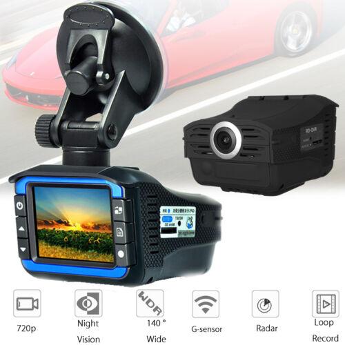 Speed Detector Dash Cam Gifts 2in1 HD Car Hidden DVR Camera