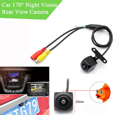 MINI 170 ° HD Night Vision Rückfahrkamera-Unterstützung NTSC / PAL Wasserdicht