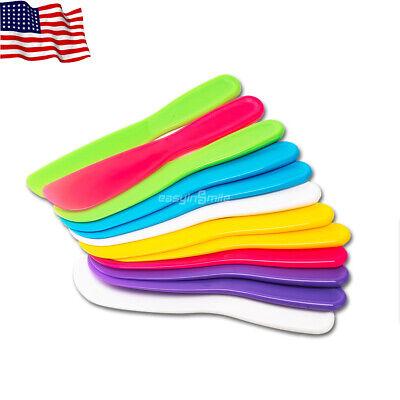 Easyinsmile Dental Disposable Mixing Spatulas Fit Mixing Bowl 12pcs Mix Colored