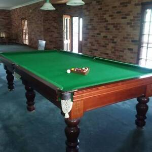 Full size billiard/pool table in excellent condition Lithgow Lithgow Area Preview