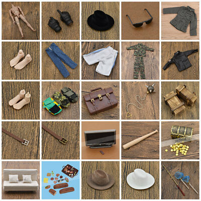 1/6 Scale Soldier  Doll Military & Adventure Accessories for Action Figure
