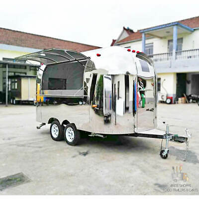 15 Mobile Food Cart Trailer - Made To Order Stainless Steel Custom Food Truck