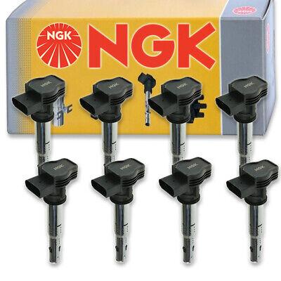 8 pcs NGK Ignition Coil for 2007-2008 Audi RS4 4.2L V8 - Spark Plug Tune Up bc