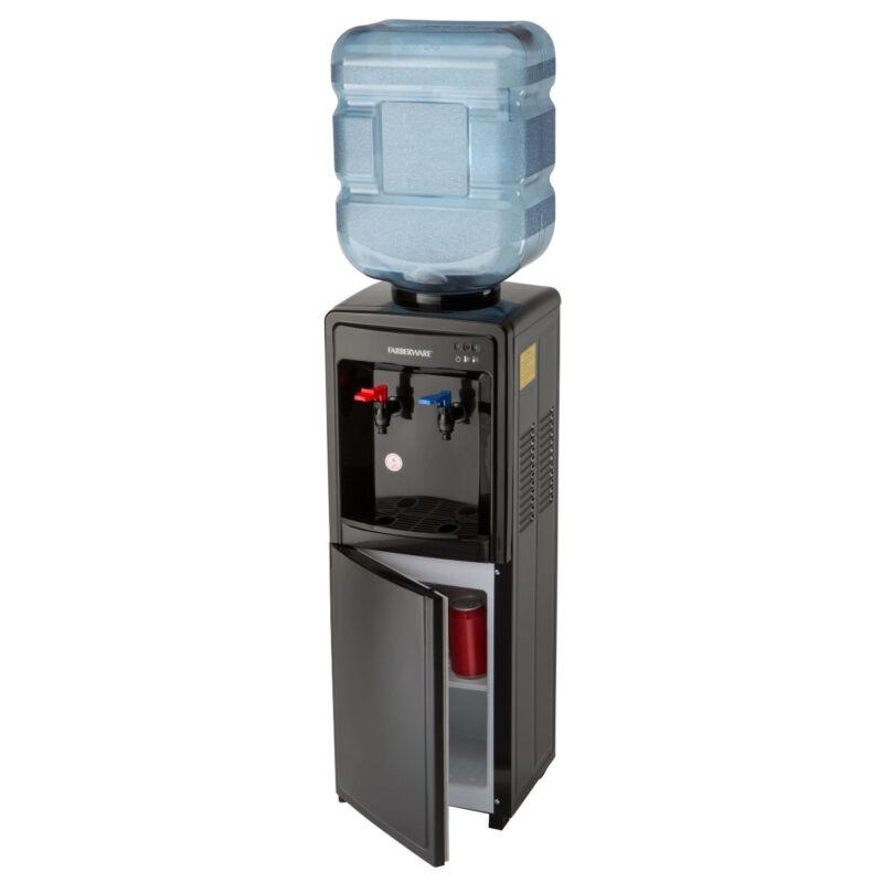 Farberware FW29919 Freestanding Hot and Cool Water Cooler Dispenser,-Top Loading