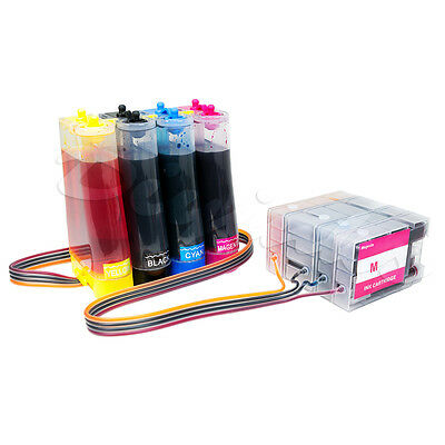 Continuous Ink Supply System Compatible for Canon PGI-1200 MB2020 MB2320 MB2720 Continuous Ink Supply System