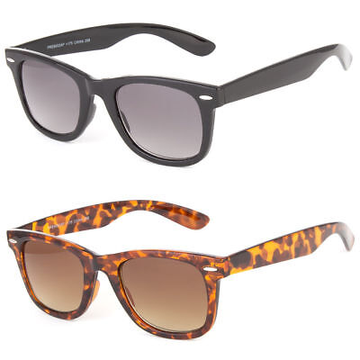Multifocal Progressive Glasses No Line Sun Readers Reading Sunglasses 3 In (One Sun Sunglasses)