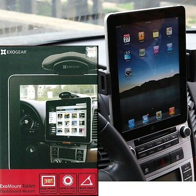 Exogear Exomount Tablet Dash Car Mount Holder for iPad iPad Air Galaxy Note 10.1