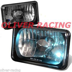 SCHEINWERFER SCHWARZ Chevrolet Camaro G20 G30 K5 Suburban Caprice Blazer 77-92