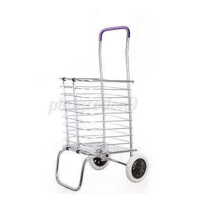 Shopping Carts Trolley Aluminium Folding Luggage For Household Cart 2 Wheels Us
