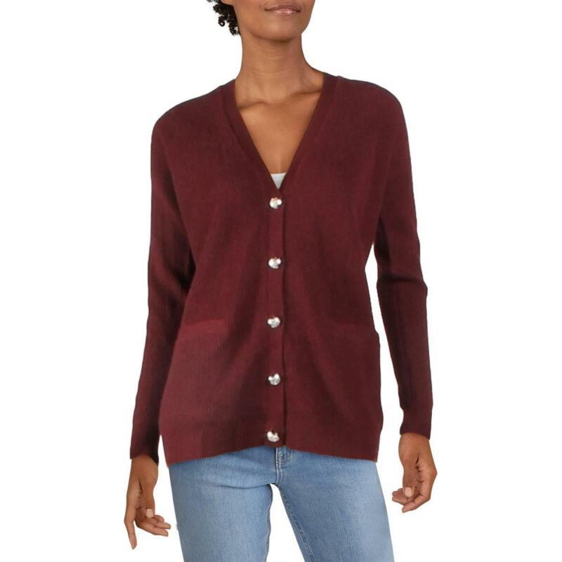 Lauren Ralph Lauren Womens Cashmere Jacket Cardigan Sweater Cardigan BHFO 6900