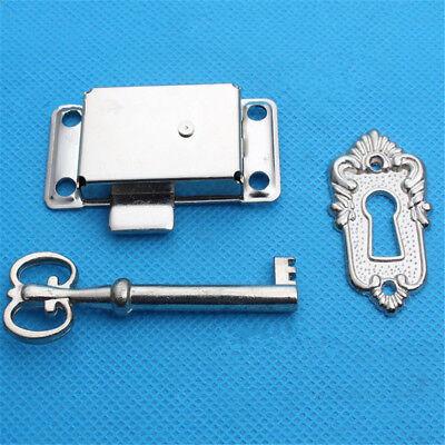 Cabinet Door Lock Set Key Curio Grandfather Clock China Jewelry Replacement New