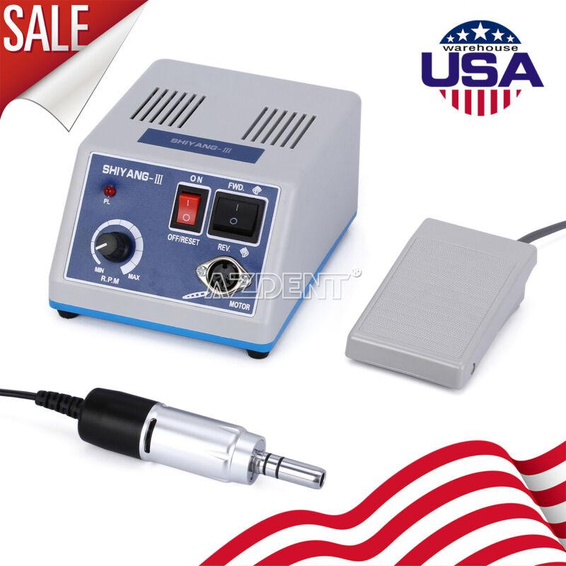 Dental Lab Marathon Micro Motor Polishing Machine & 35Krpm Polishing Handpiece