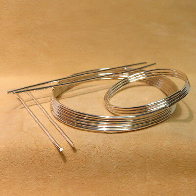 9999 Pure Silver Wire 12 Gauge - For Ionic Silver Applications