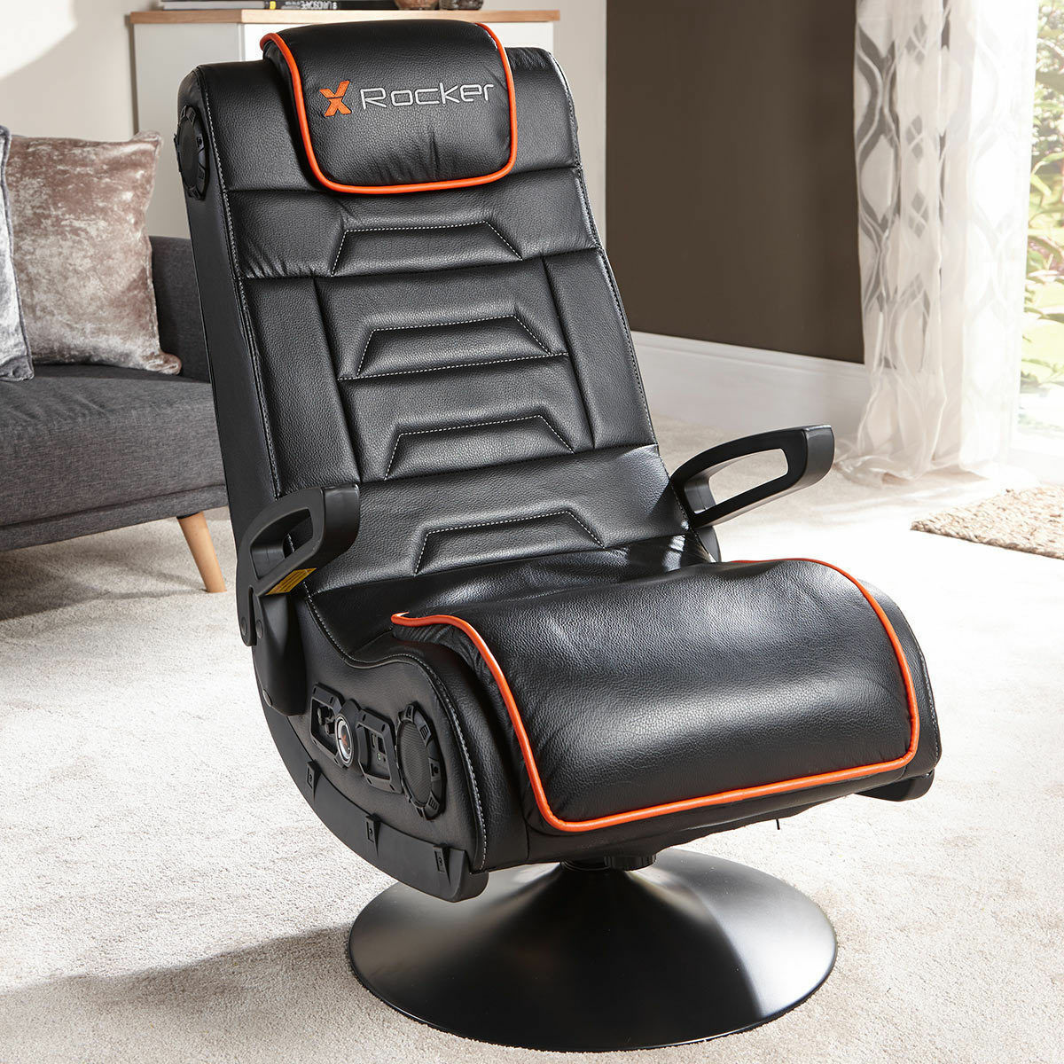 Terrific Details About X Rocker Afterburner Pedestal Gaming Chair Bluetooth Audio Sound Ps4 Xbox One Pdpeps Interior Chair Design Pdpepsorg