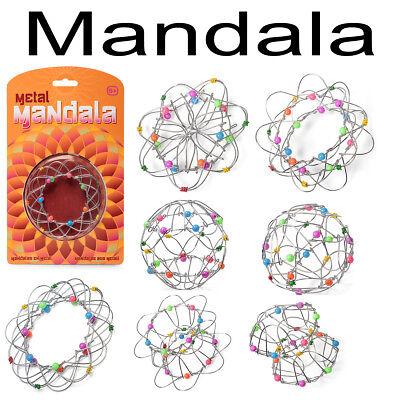 Mandala aus Metall Geduldspiel Mitgebsel Kinder Geburtstag Geschenke Spielzeug