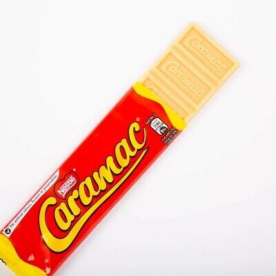 6 Nestle Caramac Bars 30g Caramel Flavour Chocolate Snack Break