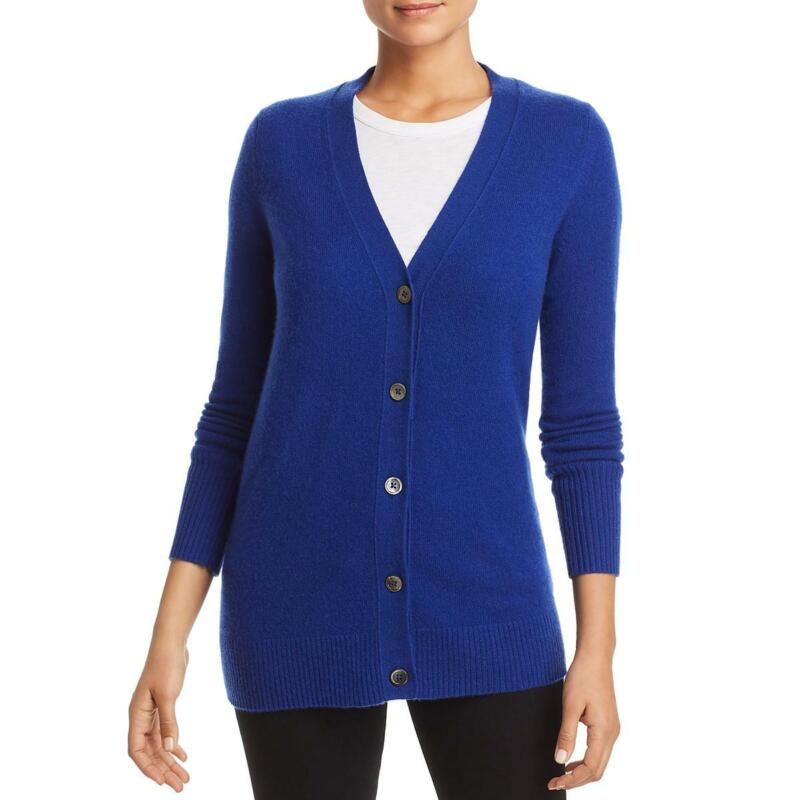 Private Label Womens Cashmere V-Neck Layering Cardigan Sweater Top BHFO 6104