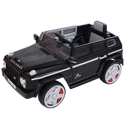 12V Kids Ride On Car Battery Powered Toy RC Remote Control W/LED Lights