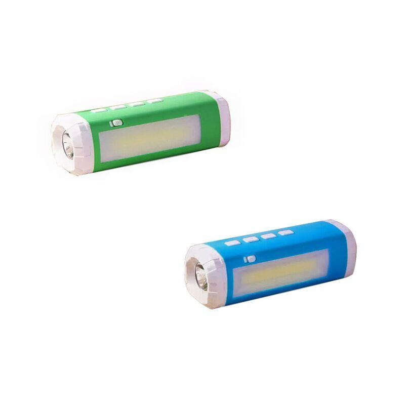 Solar Powered Bluetooth Speaker with Flashlight