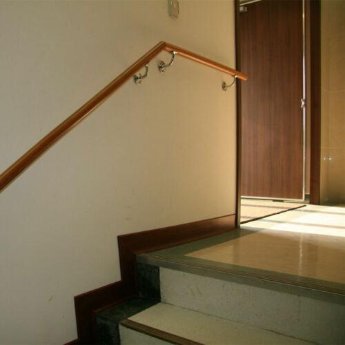 5x Handlaufträger Wand Konsole Edelstahl Handlauf Halter Treppe Geländer Rohr