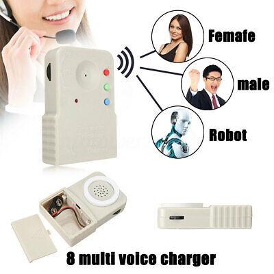 Mini 8 Wireless Multi Voice Changer Digitizer Microphone - Voice Disguiser