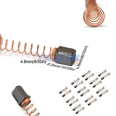 10 Carbon Brushes Dremel 90827 Rotary Multi Tool 270 280 370 380 4.8x4.8 X8.2mm