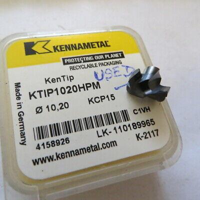 Kennametal Kentip Ktip1020hpm Dia. 1020 Mm Kcp15 Made In Germany - Little Used