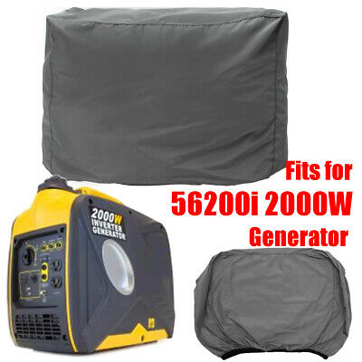 Universal Weatherproof Inverter Generator Cover For Wen 56200ic 2000w Generator