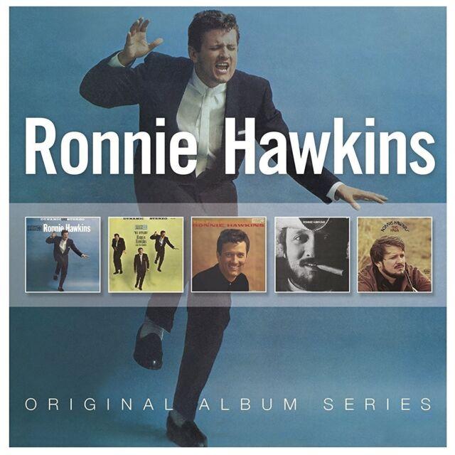 RONNIE HAWKINS - ORIGINAL ALBUM SERIES  5 CD NEU