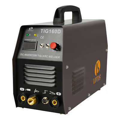 160a Dc Tig Welder With Dc Stickarc Welding Machine Igbt