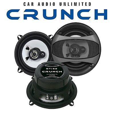 Crunch GTi 52 - 13cm 3-WEGE LAUTSPRECHER BOXEN SET 130mm Triax AUTO KFZ NEU 3-wege Lautsprecher
