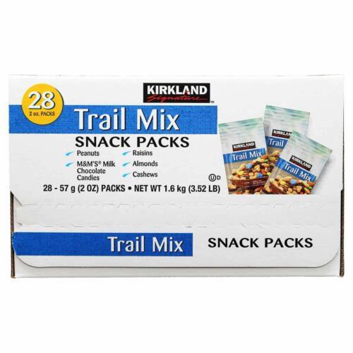 Kirkland Signature Trail Mix Snack Packs, Trail Mix, 2 pack