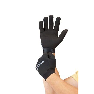 1 Pair Of Work Gloves Men Mechanics Synthetic Leather