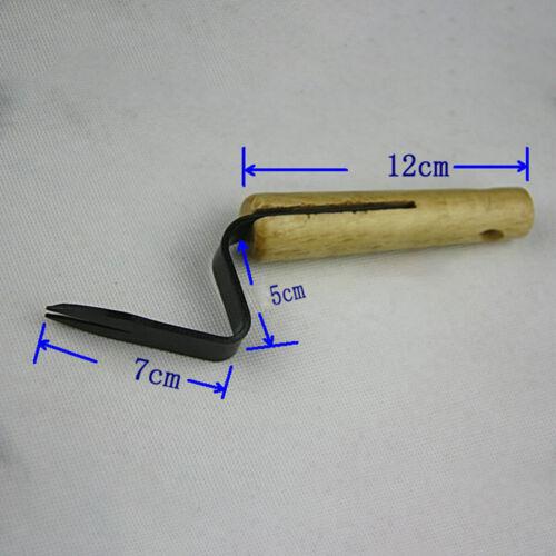 20cm Gartenarbeit Hand Weeder Gabel Jäten Puller Patio Grasentfernung Gadget