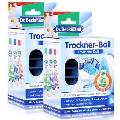 Dr.Beckmann Trockner-Ball & Wäsche-Duft Frühlingswiese 50ml (2er Pack)