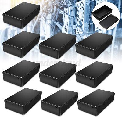 10pcskit Instrument Box Enclosure Electronic Project Case 1006025mm Plastic
