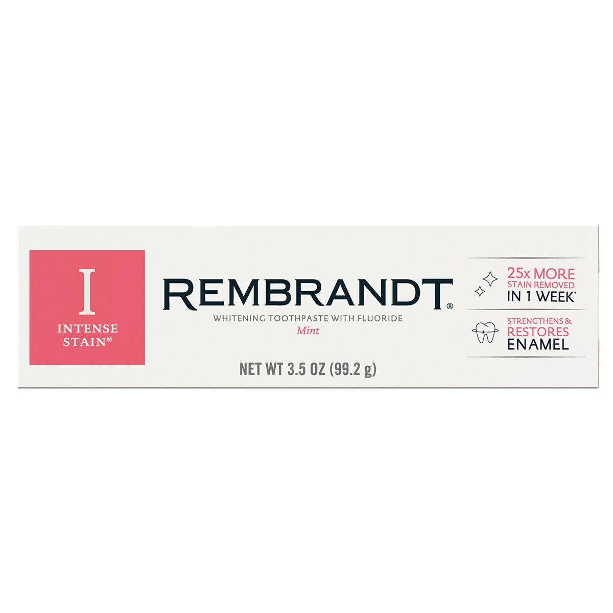 Rembrandt Intensiv Edel Zahnpasta Neue Verbesserte 99.2 G 99ml